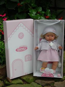 New ~ Llorens ~ Sophia ~ Crying Baby Doll ~ 15 Inches ~ Paci