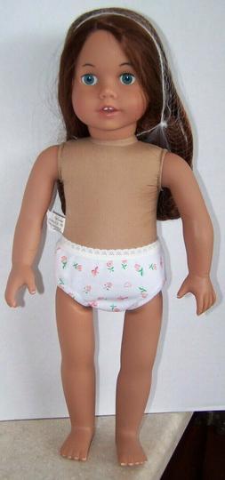 NEW Sophia's Long Auburn Hair Doll 18 Inch Vinyl Girl Doll