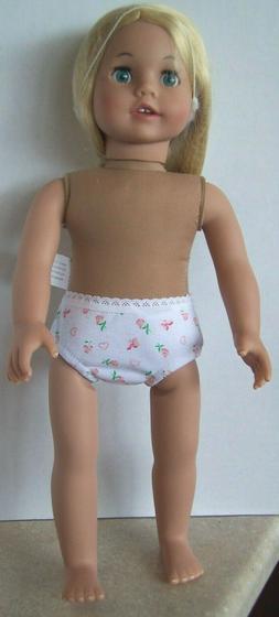 NEW Sophia's Long Blonde Hair Doll 18 Inch Vinyl Girl Doll