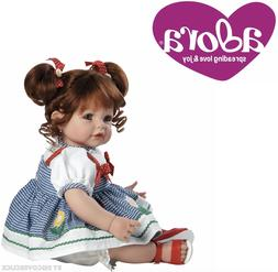 """NEW Adora Toddler Daisy Delight 20"""" Girl Weighted Doll Gift"""