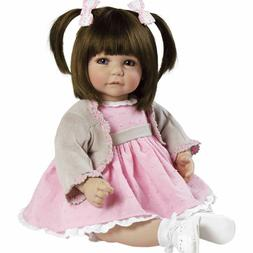 """New Adora Toddler Sweet Cheeks 20"""" Girl Weighted Doll for Ch"""