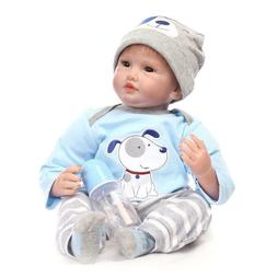 "Newborn Baby Dolls that Look Real for Sale 22"" Silicone Doll"