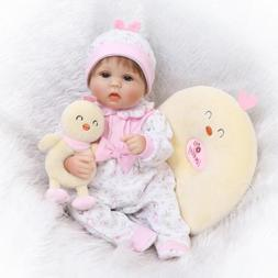 "Newborn Dolls 17"" Reborn Baby Doll Lifelike Realistic Lookin"