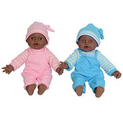 "The New York Doll Collection 12"" Sweet African American Twin"