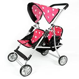 The New York Doll Collection My First Doll Twin Stroller Cu