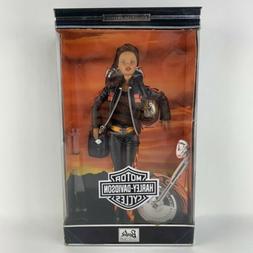 NIB 2000 Mattel Harley Davidson Barbie #5 African American C
