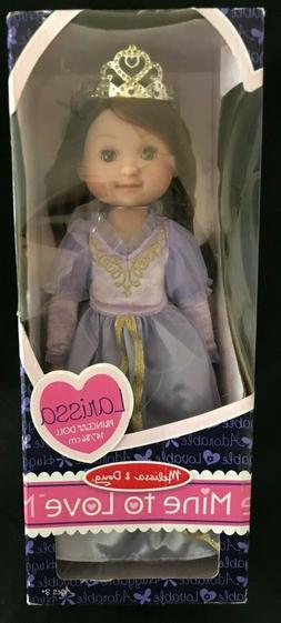 "NIB Mine to Love 14"" LARISSA Princess Doll by Melissa & Doug"