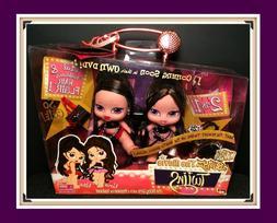 NIB New Rare BRATZ Babyz The Movie Twiins NORA and NITA Doll