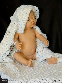"NIB Diana Newborn Baby * Real Girl * Made in Spain * 21"" All"