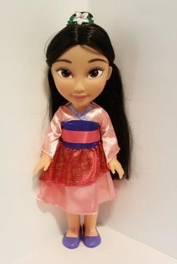 """NICE! Disney Princess Mulan, 14"""" Toddler Jakks Pacific Colle"""