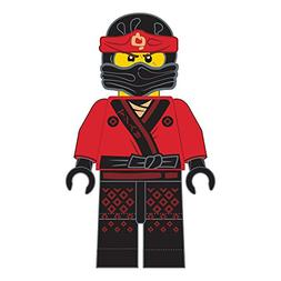 LEGO Ninjago Kai Warrior Character Shaped Soft Plush Cuddle