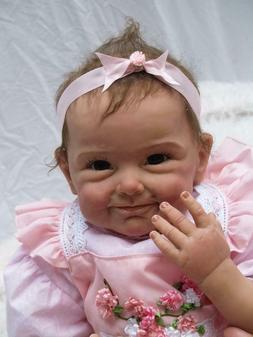 "NPK 22"" Reborn Baby Dolls Soft Cloth Body Weighted Realistic"