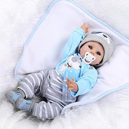 NPKDOLLS Reborn Baby Doll Soft Silicone Vinyl Baby Boy 22inc