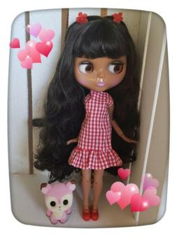 Nude Factory Type Neo Blythe Doll Brown Hair, Jointed