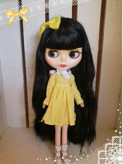 Nude Factory Type Neo Blythe Doll Black Hair