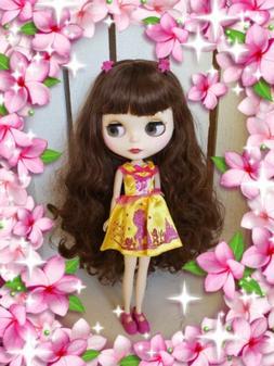 Nude Factory Type Neo Blythe Doll Dark Brown Hair
