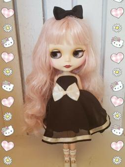 Nude Factory Type Neo Blythe Doll Pale Pink Hair
