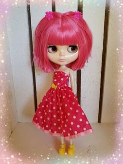 Nude Factory Type Neo Blythe Doll Pink Hair