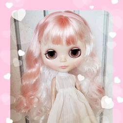 Nude Factory Type Neo Blythe Doll Pink and White Mix Hair