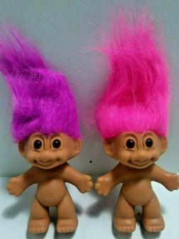 Nude Naked Russ Troll Dolls Original Packaging With Foot Sti