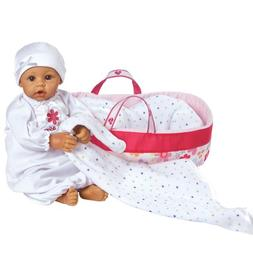 "Adora Nurserytime Medium Skin with Brown Eyes 16"" Baby Doll"
