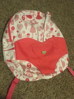 """NWOT Our Generation OG Hop On Carrier Backpack Pink Bag 18"""""""