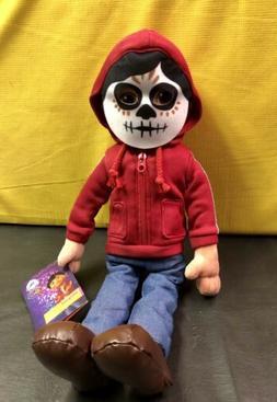 NWT Disney Pixar Coco Miguel Plush Doll w/ Mask, Día de Mue