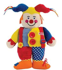 NWT Schyling Learn To Dress Yourself Jester Education Doll 3