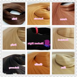 Nylon Doll Hair Natural Color Choices for Rerooting Barbie M