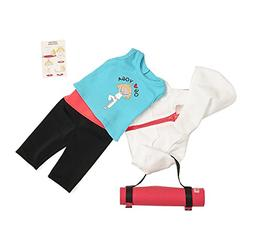 Our Generation Ommm My Way to Yoga Outfit - Compatible with