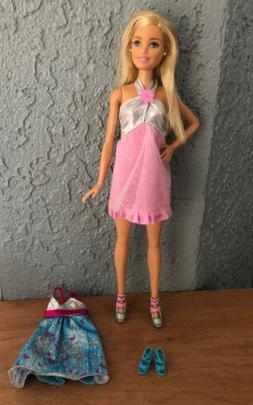 ooak barbie doll in clothes and shoes