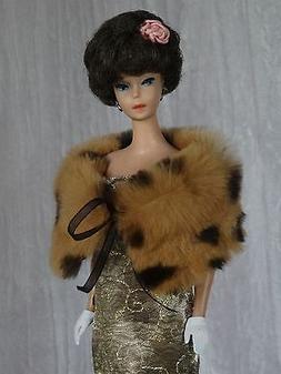 "AllforDoll OOAK sheared Fur BOA for 11.5"" Vintage Silkstone"