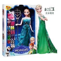 Original box High Quality Anna And Elsa <font><b>Dolls</b></