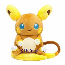 Original Pokemon Dolls Alolan Raichu Plush Doll Cute PokeToy