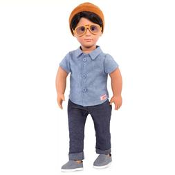 "Our Generation 18"" FRANCO Boy Doll Officially Licensed NIB/S"