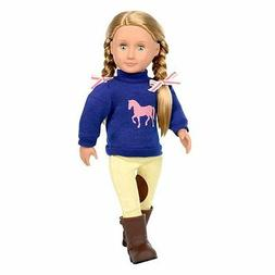"Our Generation doll 18"" Montana Faye Blonde Hair Fits Americ"