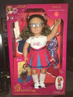 """Our Generation Juliet 18"""" Doll With Brown Hair & Brown Eye"""