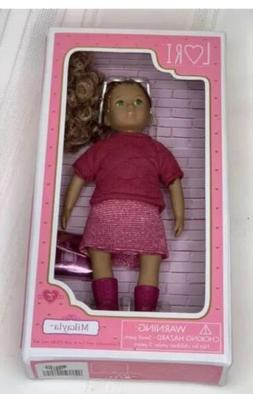 """OUR GENERATION MIKAYLA LORI DOLL 6"""" INCH Sealed BRAND NEW"""