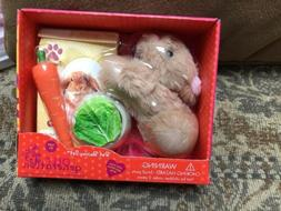"""Our Generation PET BUNNY Set~18"""" Doll Accessories"""
