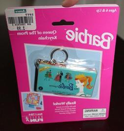 PACKAGED Basic Fun BARBIE DOLL The Barbie Game Keychain