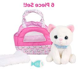 "Adora Amazing Pets ""Luna the White Kitty"" – 18"" Doll"