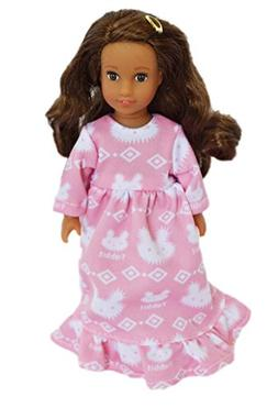 Brittany's My Pink Bunny Nightgown Compatible with Mini Amer