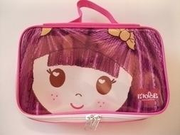 Adora PINK CARRY CASE LUNCH BOX for Girls School Bag Doll Lo