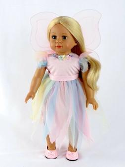 Pink Fairy Pastel, Easter Princess 18 Inch Dolls  by America