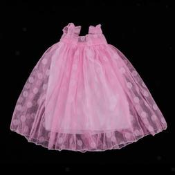 Pink Lace Dress for 16 inch Sharon Journey Girl Dolls Clothe