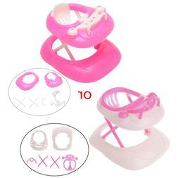 Pink Plastic Walker 1:6 for <font><b>Barbie</b></font> <font