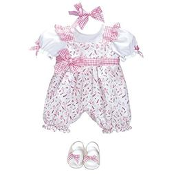"Adora ""Playful Picnic Romper Dress Clothes Outfit Set Pack f"