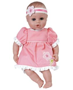 """Adora PlayTime Baby Garden Party 13"""" Washable Soft Body Play"""