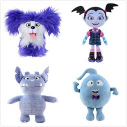 Plush Dolls 25cm Purple Girl Stuffed Cotton Unisex For Chris