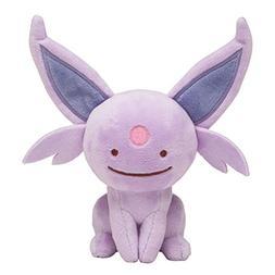 Pokemon Center Original  Poke Plush Doll Ditto Espeon
